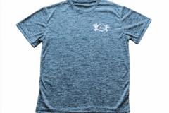 Shirt-Männer-Front-Blau-Meliert