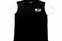 Shirt-Männer-Front-Schwarz